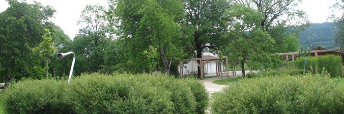 Le jardin de traverse bouverans parcs et jardins des for Amenagement jardin urbain